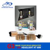 Farol do diodo emissor de luz do carro do CREE 3000lm H7 do poder superior 30W da boa qualidade