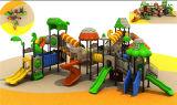 Corrediça ao ar livre do equipamento ao ar livre novo do campo de jogos do parque de diversões do projeto para miúdos