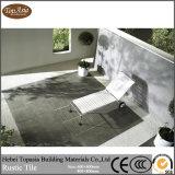 Azulejo rústico de cerámica esmaltado de la pared del suelo del color del cemento de la porcelana para la decoración