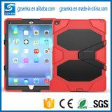 """Proteger por completo el caso a prueba de choques de la defensa de la Anti-Gota del rectángulo de la cubierta para el iPad FAVORABLES 9.7 """""""