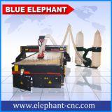 彫版の切断EPSの泡、発泡スチロール、PUの泡、ポリスチレンのためのCNCのルーター4の軸線機械