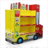 Indicador do papel do carro para a prateleira de indicador dos brinquedos