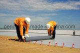 Waterdichte Membraan van pvc van het Dakwerk van de bouw het Materiële Plastic