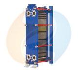 Échangeur de chaleur de plaque de garniture de Gphe de différence de la température de réfrigérant à huile de L100b petit
