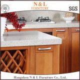 N et L Module de cuisine préfabriqué de laque en bois de hêtre E1