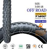 La motocicleta africana parte la montaña 3.00-18 del neumático de la motocicleta del neumático de la motocicleta de la moto