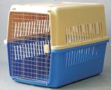 Plástico do canil do cão da linha aérea do indicador do animal de estimação