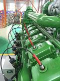 Generator der Lebendmasse-500kw mit hölzernem Vergasung-Gas