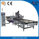 Cargando y descargando la máquina del ranurador del CNC para la industria de los muebles