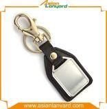 선전용 Handmade 고객 디자인 가죽 Keychain