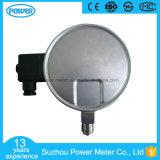 indicateur de pression électrique bon marché de contact d'acier inoxydable des prix de 150mm