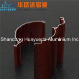 Perfis de alumínio da extrusão de transferência de madeira de alumínio para Windows e portas