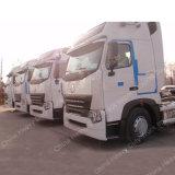 Caminhões da cabeça do trator de HOWO A7 Sinotruk 336HP 6X4 para a venda