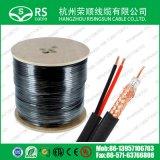 Cctv-Kabel Rg59 mit 2*0.75mm2 Netzanschlusskabel-Kabel für Kamera