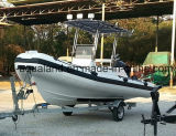 Aqualand 18feet 5.4m 10persons Rigid Inflatable BoatかRib Boat/Fishing Boat (RIB535A)