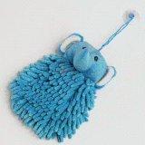 Tovagliolo di pulizia blu del fumetto del Chenille dell'elefante