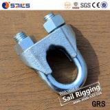 Clip calde elettriche della fune metallica di vendita DIN741 di Galv Cina