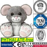 O CE caçoa o brinquedo macio do luxuoso do rato do animal enchido do presente