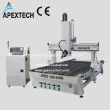 máquina de cinzeladura de madeira do CNC do auto cambiador da ferramenta 1325-4axis (APEXTECH)