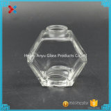 90ml 3oz Oblate Hexagon-Glashonig-Glas-Maurer-Glas mit Korken