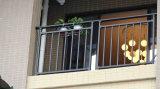 Barandilla residencial elegante de la seguridad del hierro labrado