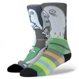 Kundenspezifisches Fashion Design 3D Printed Cotton Sublimation Socks