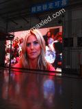 전자 광고 LED 위원회를 건축하는 P3s 잘 고정된 높은 광도