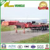 Cimc 3 차축 낮은 침대 트레일러 60 톤 장비 수송