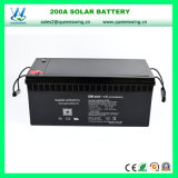 200ah 유지 보수가 필요 없는 태양 에너지 12V 건전지 (QW-BV200A)