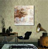 Ligne décorative peinture à l'huile