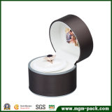 Eleganter LED-video PU-lederner Schmucksache-Kasten