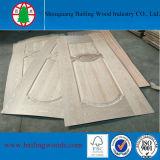 Bailing76自然な木製のベニヤのドアの皮