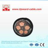 Câble électrique à plusieurs noyaux coaxial pour l'acier inoxydable