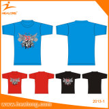 Healong Wholesale Custom Plain Polo T-Shirt 100% coton T-Shirts