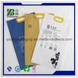 ハンドルが付いている米そして小麦粉のためのプラスチック包装袋