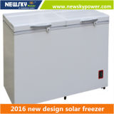 Congelador solar solar do congelador 12V 24V da potência da C.C. do refrigerador profundo solar do congelador do refrigerador