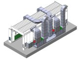 Painting와 Baking를 위한 20m Industrial Spray Booths