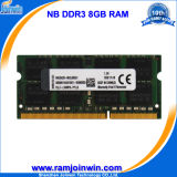 Низкая компьтер-книжка 8GB Density 1600MHz PC3-12800 DDR3 RAM