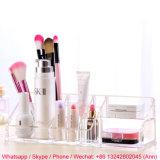 Rectángulo de acrílico claro del maquillaje/rectángulo del lápiz labial