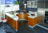 Armadio da cucina originale della lacca della vernice di essiccamento di Champagne di stile del sole di Cezanne (CA09-03)