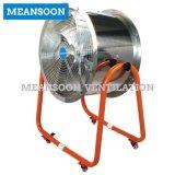 Edelstahl-axialer Ventilator mit Aluminiumschaufeln
