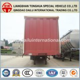 Side utilitaria Curtain Van Closed Type del carro acoplado semi