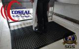 La estera de goma de la seguridad para el taller de la fábrica de la cocina barra industrial al aire libre