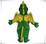 Mascotte verde su ordinazione del drago di volo di qualità autentica