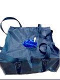 Grand sac bleu de catégorie comestible