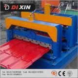 L'exportation de Cangzhou Dixin vers Kazarhstan, la tuile 1100 en acier de Glzaed laminent à froid former la machine