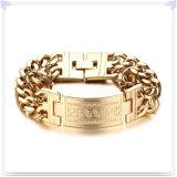 De Armband van identiteitskaart van de Armband van het Roestvrij staal van de Juwelen van de manier (HR473)