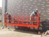 Limpeza de aço industrial plataforma suspendida para a venda