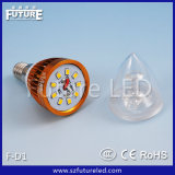 Futuro E14 3W Round LED Candle Flame Lamp