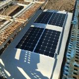De la fábrica células solares solares flexibles del panel 100W 18V directo mono